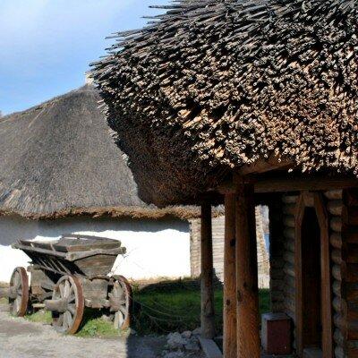 Тростниковая крыша, музейный комплекс «Запорожская Сечь»