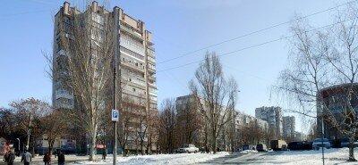 Улица Сытова жилмассива «Космический»