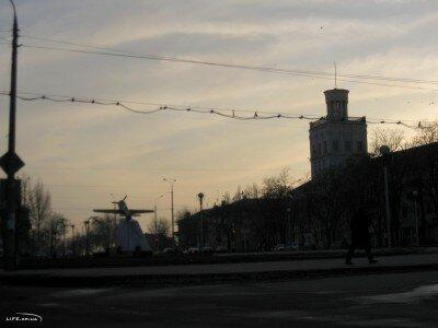 Вечер на бульваре Шевченко