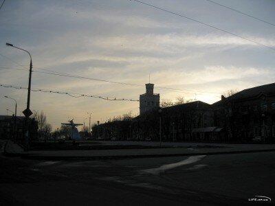 Вечер на бульваре Шевченко 2011 год