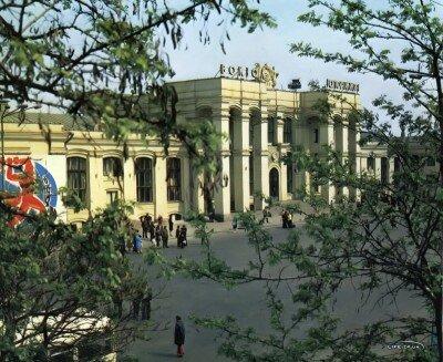 Вокзал Запорожье-1, 1978 год