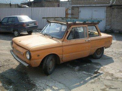 Старый Запорожец 968М