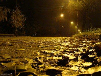 Павло-Кичкас ночью
