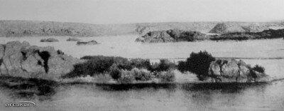 Панорама Днепра в районе возведения ДнепроГЭСа