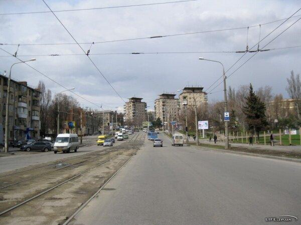 Проспект Ленина в районе автовокзала