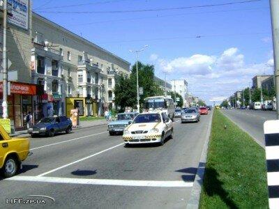Проспект Ленина в час пик