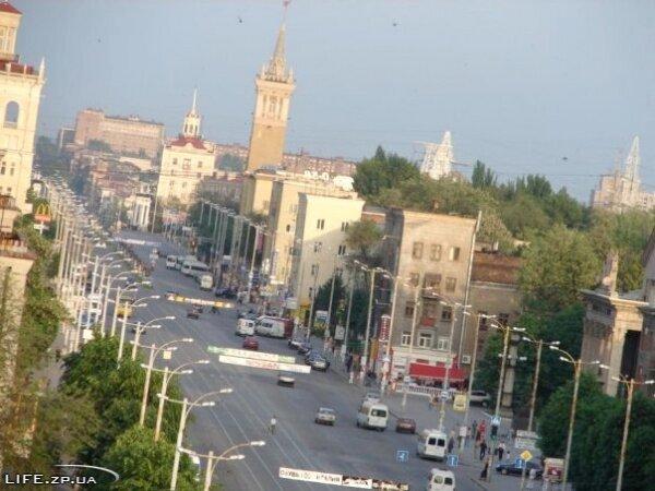 Проспект Ленина в районе «Глинки»