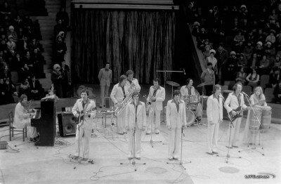 Выступление ВИА «ПЛАМЯ» на арене Запорожского цирка 22 февраля 1980 года