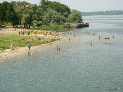 Залив Осокоровый, старый пляж (Павло-Кичкас)