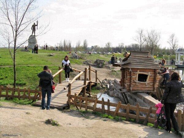 Вознесеновский парк на набережной