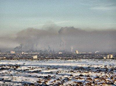 С этого места Запорожье страшно выглядит