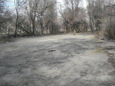 Будущая спортплощадка на Павло-Кичкасе
