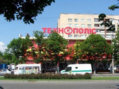 Магазин «Технополис» (остановка «Ресторан Лахти»)