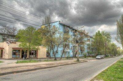 HDR фотография - улица Патриотическая