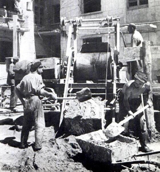 Восстановление Запорожья, 1947 год