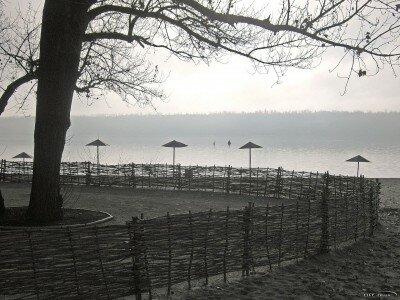 Центральный городской пляж зимой, декабрь 2011 года