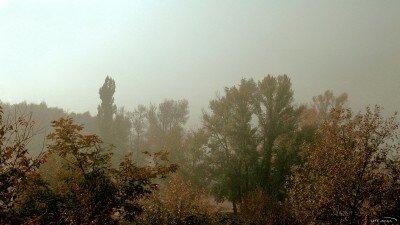 Туманное утро в Запорожье (Октябрь 2011 года)