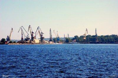 Порт имени Ленина в верхнем бьефе, 6-й поселок