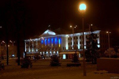 Горисполком зимой 2012