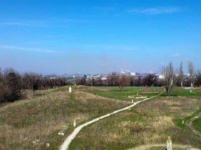 Остров Хортица, Апрель 2012 года