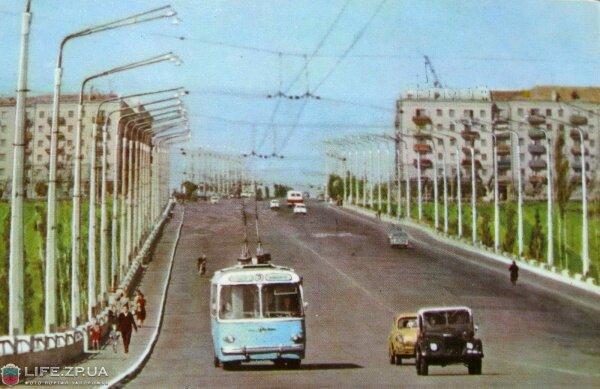 Дамба (Запорожье) 1964 год