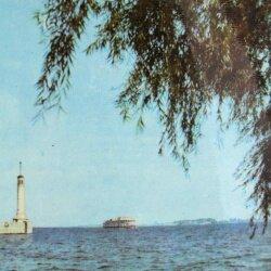 Маяк в порту имени Ленина, 1964 год (60-е годы)