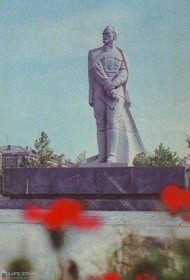 Памятник Ф.Э. Дзержинскому, 1979 год (70-е годы)
