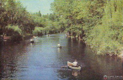 Парк «Дубовая роща» 1969 год (60-годы)