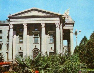 Здание театра имени Щорса в 1964 году (60-е годы)