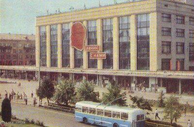 Универмаг «Украина», 1969 год (60-е годы)