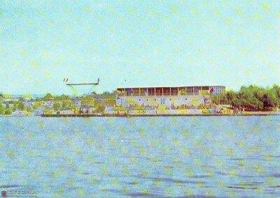 Водная станция «Строитель» (1970-1980 года)