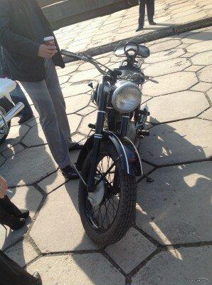 Выставка раритетных мотоциклов 2012