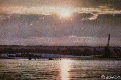 Заход солнца на Днепре, 1964 год (60-е годы)