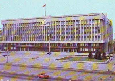 Здание обкома Компартии Украины и облсовета народных депутатов, 1978 год