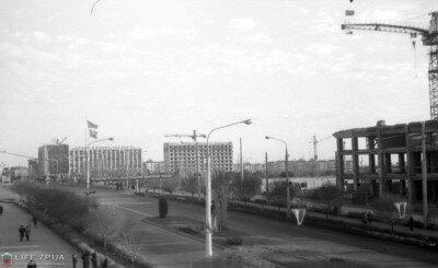 Гостиница «Интурист» продолжает строиться, 1968 год