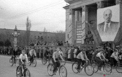 Первомайская демонстрация 1958 года