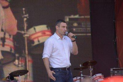 Лидер партии «Удар» Виталий Кличко