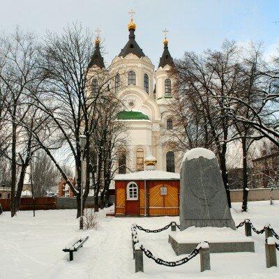 Свято-Покровский кафедральный собор, зима 2013 года