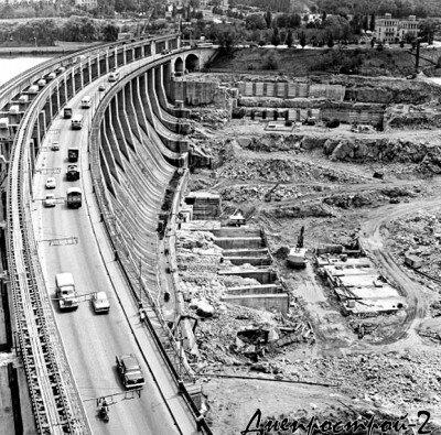 Днепрострой-2, 40-е годы