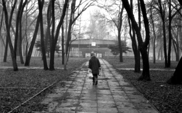 Парк энергетиков в 1989 году. Сейчас все разрушено.
