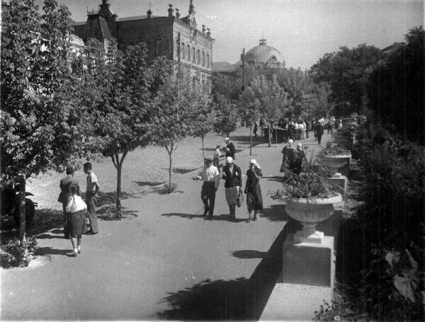 Старая часть города до войны, конец 30-х годов