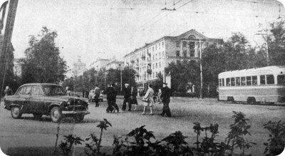 Ретро фотография Запорожья в 1962 году (60-е годы)
