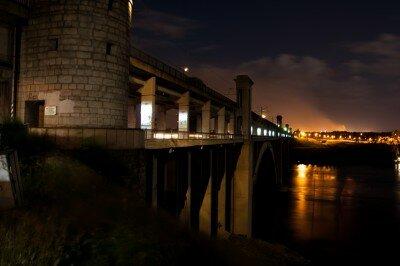 Ночной мост Преображенского