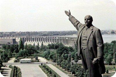 60-е годы, дорога на ДнепроГЭС
