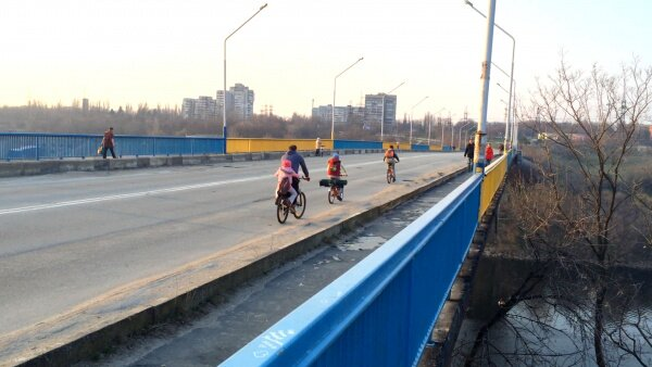 Арочный мост в Запорожье (99 Секунд Запорожья)