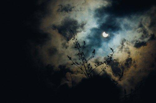 Фотографии солнечного затмения 2015