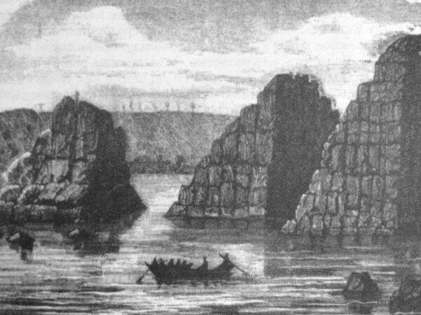 «Этот остров, хочу я сказать, - это мистическая Эрифея, которая лежит посреди океана, а гранитные скалы, которые торчат из вод Днепра, - это Столбы Геркулеса»