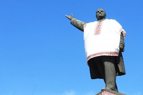 Ленин в вышеванке