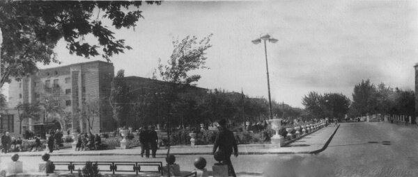 Небольшая панорама Соцгорода 1946-1950 годов