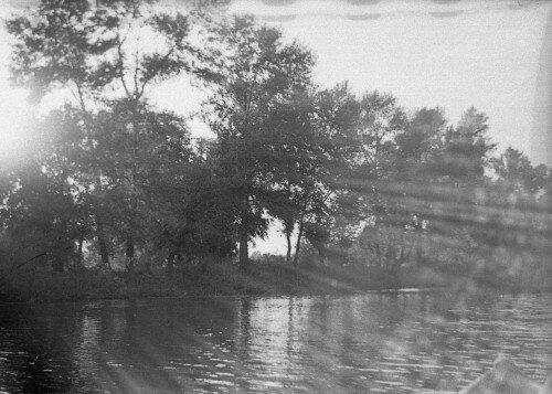 Фотография сделана в августе 1957 года. Остров Хортица. Озеро Осокоровое.